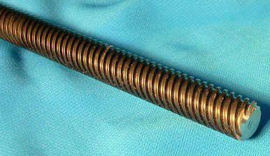 304035 3 1 2 10 X 36 Inch 3 Foot 5 Start Rh Acme Threaded Rod For Lead Screw Cnc Acme Thread Cnc Desktop Cnc