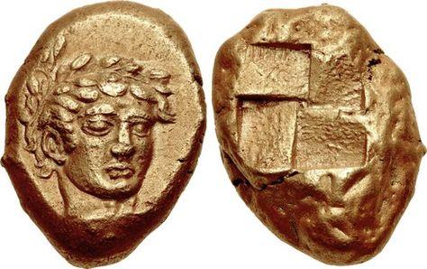 MYSIA, Kyzikos. Circa 450-330 BC. EL Stater (15.5mm, 16.05 g).