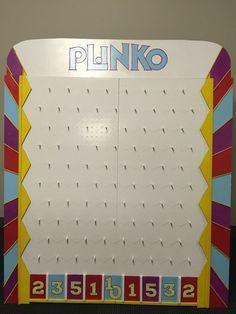 Diy backyard plinko party game happiness is homemade games diy plinko board solutioingenieria Choice Image