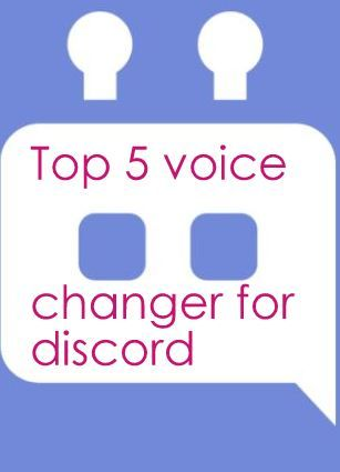 5 Best Voice Changer for Discord | Everything Tech | The voice