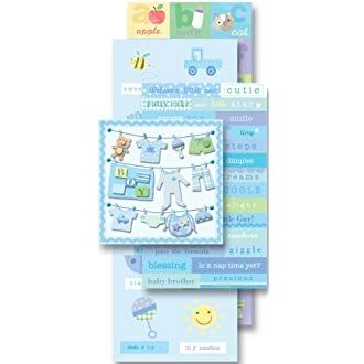 Limited Edition K/&Company Baby Boy Diecuts