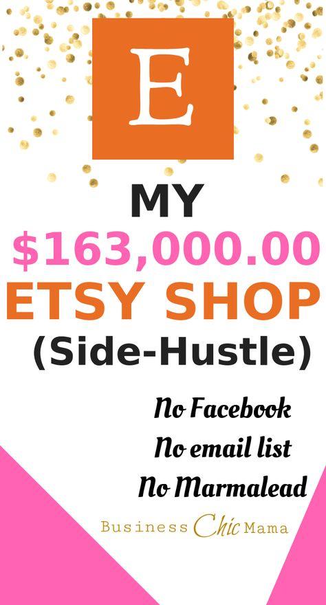 My $163,000 Etsy Side-Hustle Shop