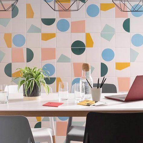 Tom Pigeon Tiles at Parkside London