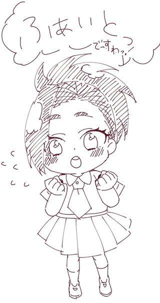 Chino Momo Sketches Art Hero