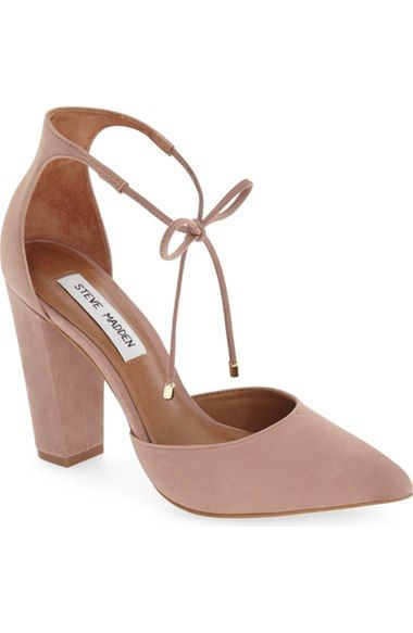 Steve Madden 'Pamperd' Lace-Up Pump (Women) available at #Nordstrom