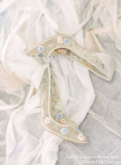 Chloe champagne beaded flower embellished embroidered nude heels evening and wedding shoes. Wedding On A Budget, Destination Wedding, Wedding Pumps, Shoes For Wedding, Wedding Sneakers, Wedding Favors, Wedding Ceremony, How To Dress For A Wedding, Embellished Shoes