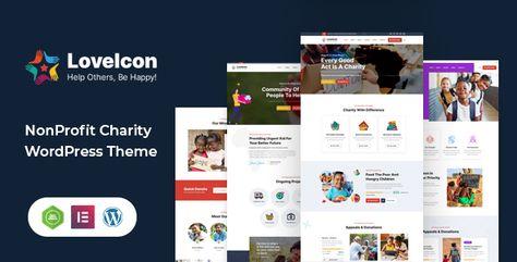 LoveIcon – Nonprofit Charity Theme   Stylelib
