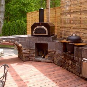 Beau Small Kitchen Pizza Oven. Rustic Outdoor KitchensDiy ...