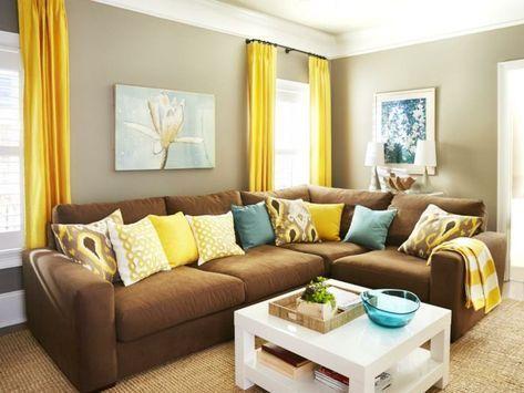 65 Ideas For Apartment Living Room Decor Beige Wall Colors Apartment Beige Colors Decor Brown Couch Living Room Yellow Walls Living Room Couches Living Room