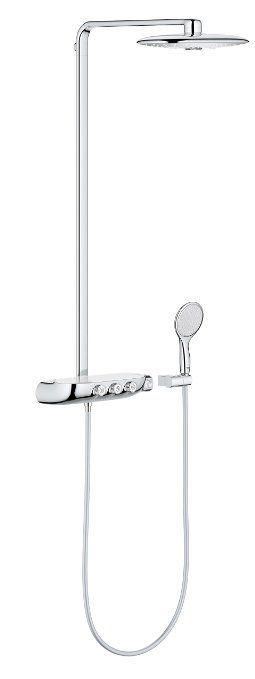 848 Grohe 26250000 Duschsaule Mit Thermostatmischer Best Amazon De Baumarkt Duschsysteme Dusche Thermostat
