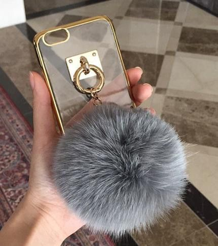 iphone 7 case pompom