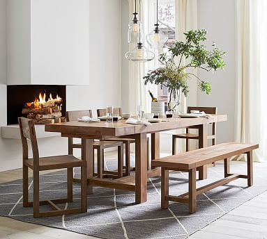 Reed Extending Dining Table Dining Table With Bench Extendable
