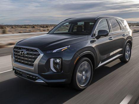 The 2020 Hyundai Palisade Is A Boldly Styled Three Row Crossover Hyundai Palisades Kia