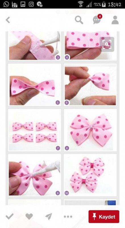 42 New Ideas Baby Girl Diy No Sew Hair Bows Handmade Hair Bows Bows Diy Ribbon Diy Baby Headbands
