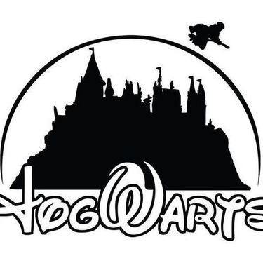 Hogwarts Disney Tattoo Design Harry Potter Silhouette Hogwarts Silhouette Harry Potter Diy