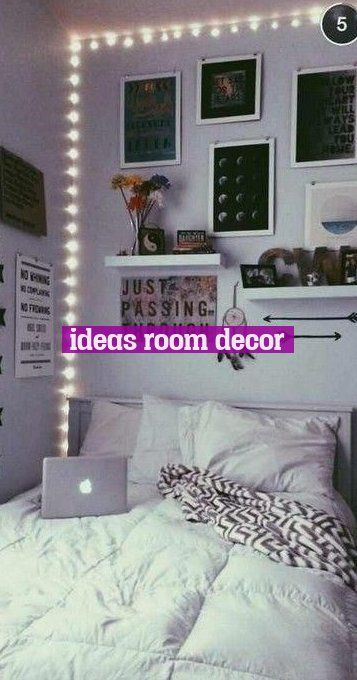 Teenage Girl Bedroom Ideas For A Teenage Girl Or Girls Idees De Chambre Adolescente Pour Une Adolescente Ou Girl Room Vintage Girls Rooms Small Bedroom Decor