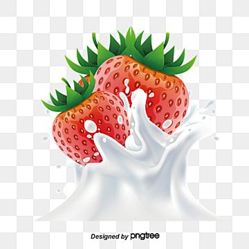 Strawberry Milk Strawberry Vector Milk Vector Strawberry Png Transparent Clipart Image And Psd File For Free Download Strawberry Milk Strawberry Png Milk Splash