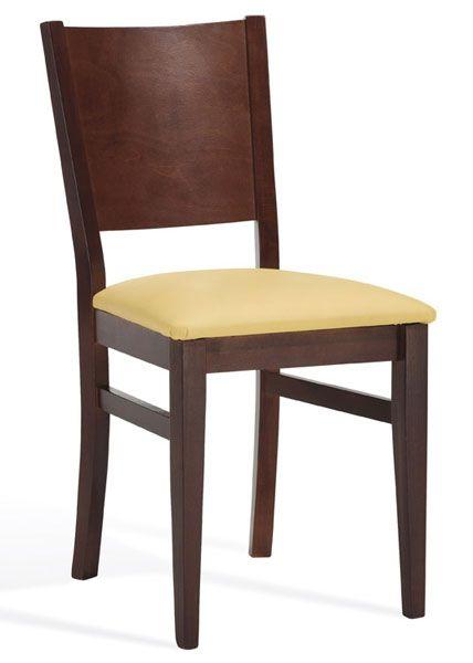 sillas de madera maciza tapisadas