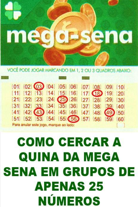 Mega Sena Gerador De Combinacoes Premiadas Em 2020 Mega Sena