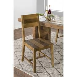Abbey Solid Curio Flat Back Cabinet Dining Chairs Farmhouse Dining Chairs Solid Wood Dining Chairs