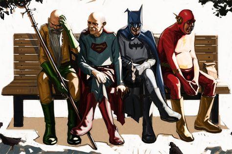 Grumpy Old Super Heros