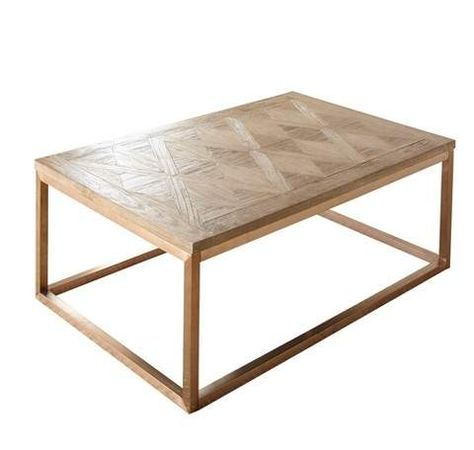 Gino Cocktail Table Driftwood Steve Silver Brown Stylish