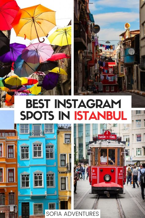21 Most Instagrammable Places in Istanbul: Photo Spots Not to Miss!