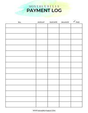 Download Your Free Bill Payment Organizer Bill Payment Organization Bill Organization Printables Bill Planner