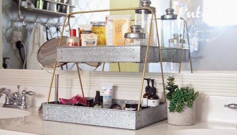 51 Simple Bathroom Storage Ideas Roundecor Bathroom Organisation Organize Bathroom Countertop Bathroom Counter Organization