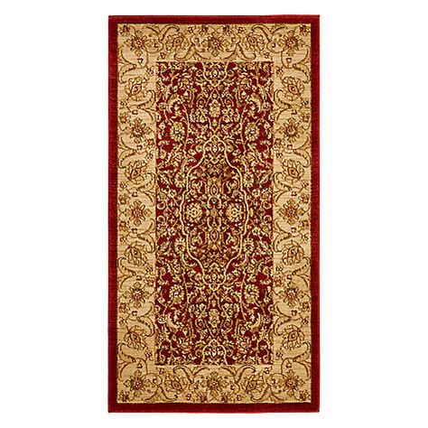 John Lewis Syon Persian Rug Red Online At Johnlewis Com
