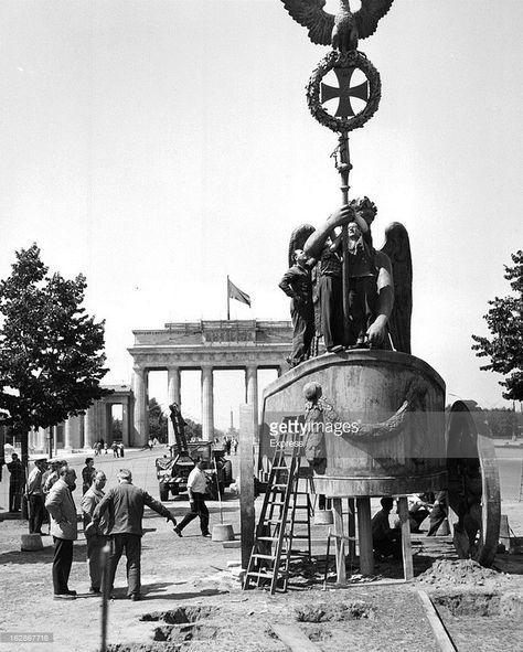 Reconstruction Of The Statue Of The Brandenburg Gate Berlin Geschichte Brandenburger Tor Geschichte