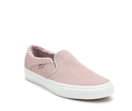 Women's Vans Asher Suede Skate Shoes in