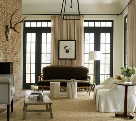 11 best images about Window coverings - French door window treatment