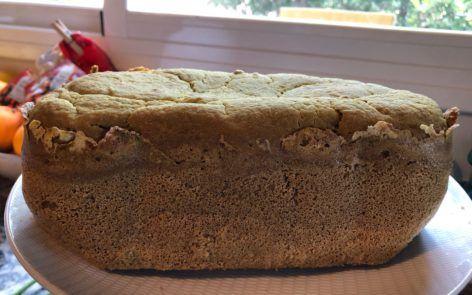 Pan sin gluten trigo sarraceno panificadora