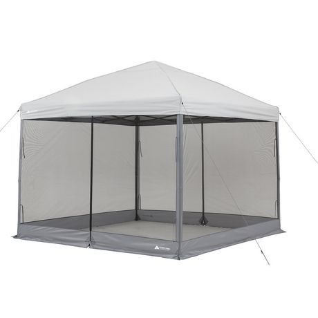 Ozark Trail 10 X10 Mesh Curtain Gazebo Ozark Trail Curtains Walmart