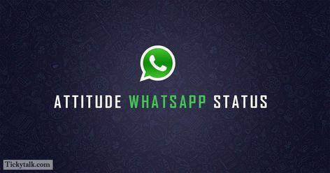 100 Attitude Whatsapp Status That Show Your Personality