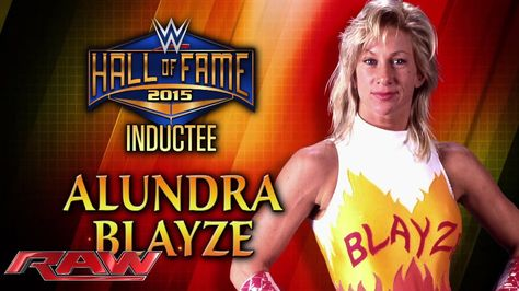 Alundra Blayze Joins 2015 WWE Hall of Fame Class - http://www.scifighting.com/2015/03/03/38968/alundra-blayze-joins-2015-wwe-hall-of-fame-class/