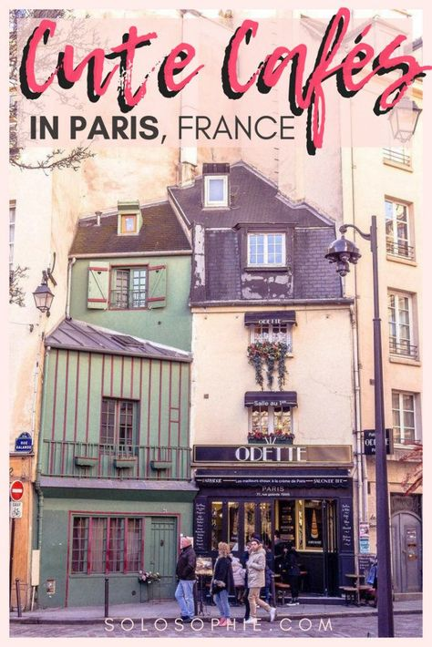 Cute Cafés and coffee shops in Paris, France. Here's your complete guide to the best of French cafes in the City of Light, France