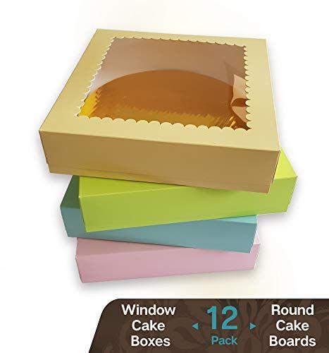 Coloured Cake Boards