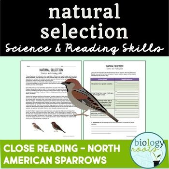 Evolution Natural Selection Reading Exercise Is A Two Page Reading Exercise In Which Students Read An Life Science Activities Science Skills Natural Selection