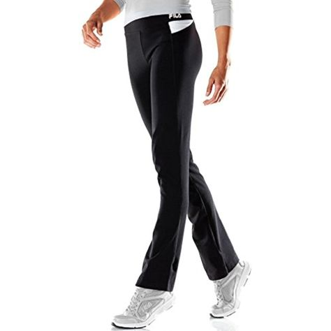 82d66ddf953a0 FILA SPORT Women's Core Essentials Focus Fitness Yoga Pants Bootcut **  Click image for more details. (This is an affiliate link) #Pants