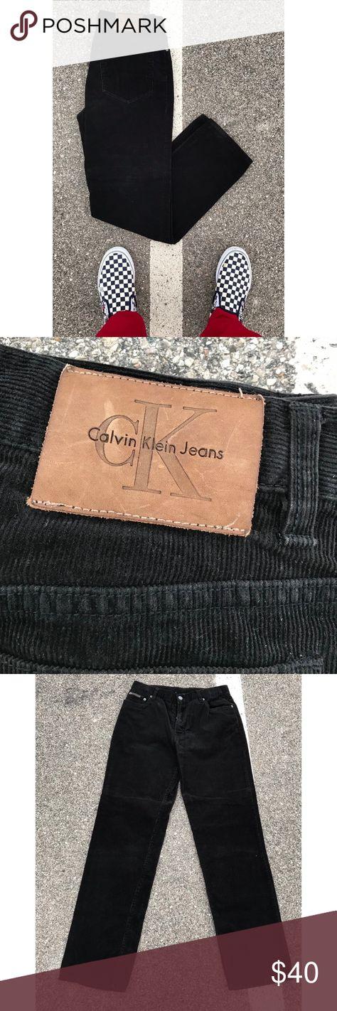 Vintage 90's Calvin Klein black Jeans T
