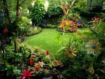 Tropical Landscape Ideas Small Yards Landscape Design Ideas