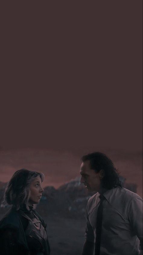 Loki and Sylvie Lockscreen