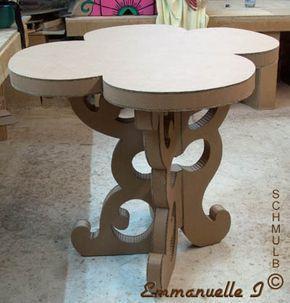 Meubles En Carton Et Papier Mache Cardboard Furniture Diy Cardboard Furniture Cardboard Crafts