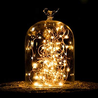DEL ampoule avec fil guirlande électrique 2 pièces-verre ampoule Lustre Deco