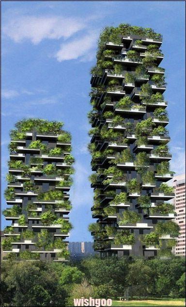 Bewaldete Hochhauser In Mailand Bosco Verticale Architektur Und Architekten News Futuristische Architektur Nachhaltige Architektur Grune Architektur