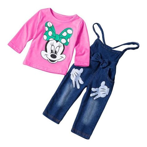 5047239eb Girls T-shirt+Pants 2pcs Outfit in 2018