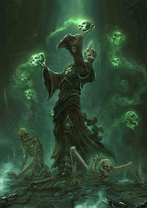 Squelette nécromencien