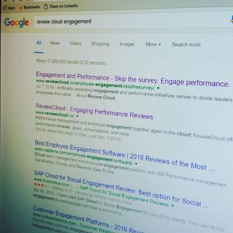 Just #google  - performance reviews